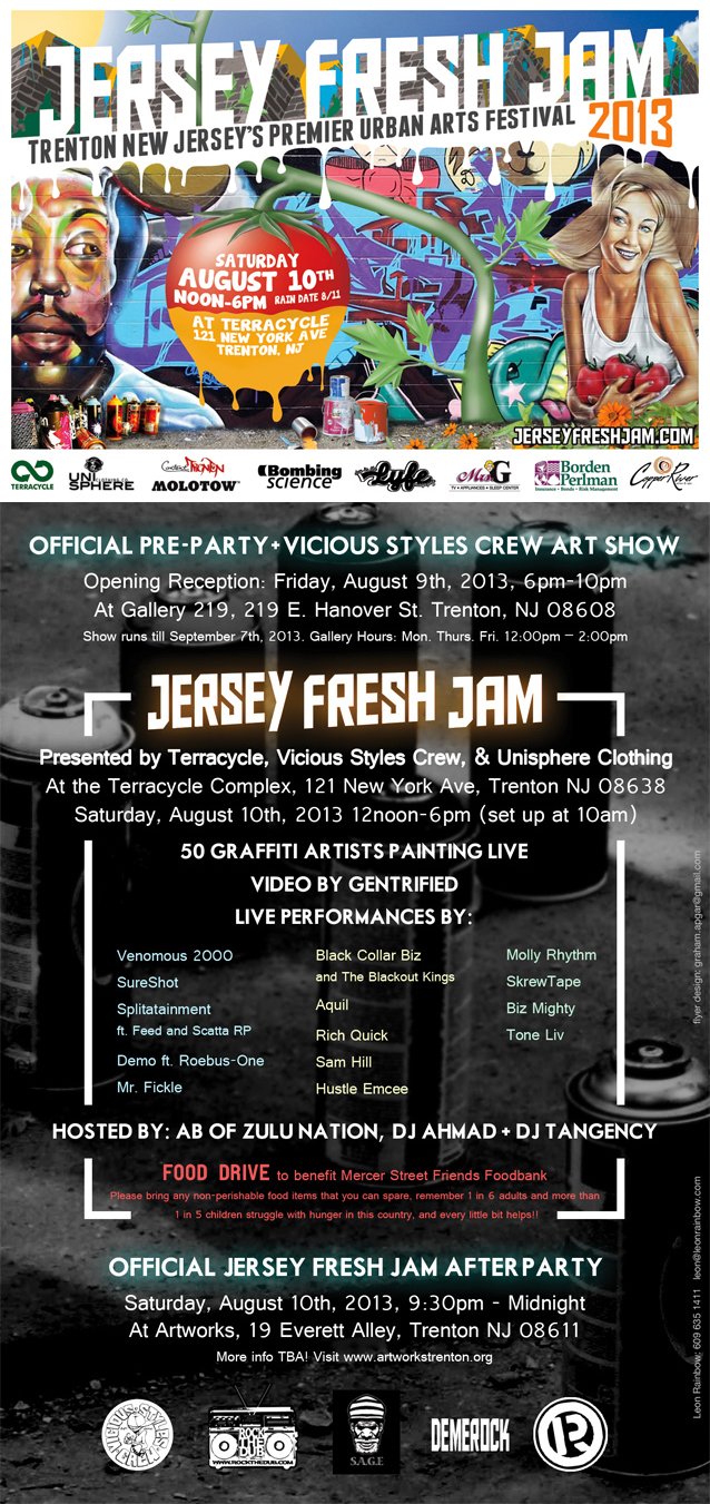 Jersey Fresh Jam Official Flyer