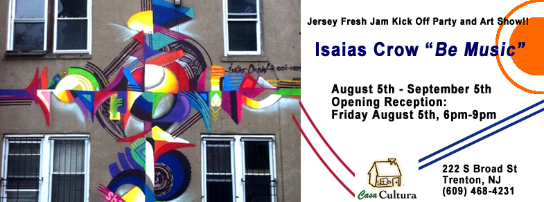Jersey Fresh Jam Kick Off Party and Art Show!